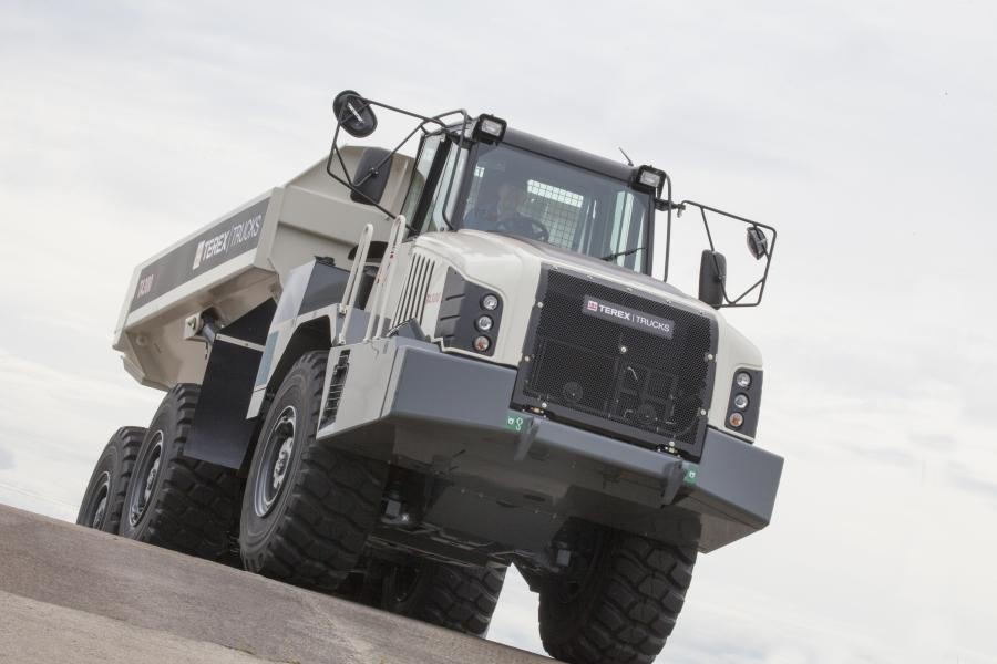 RECO Equipment has become Terex Trucks' first dealer in North America to buy not one but two Generation 10 TA300 articulated haulers.