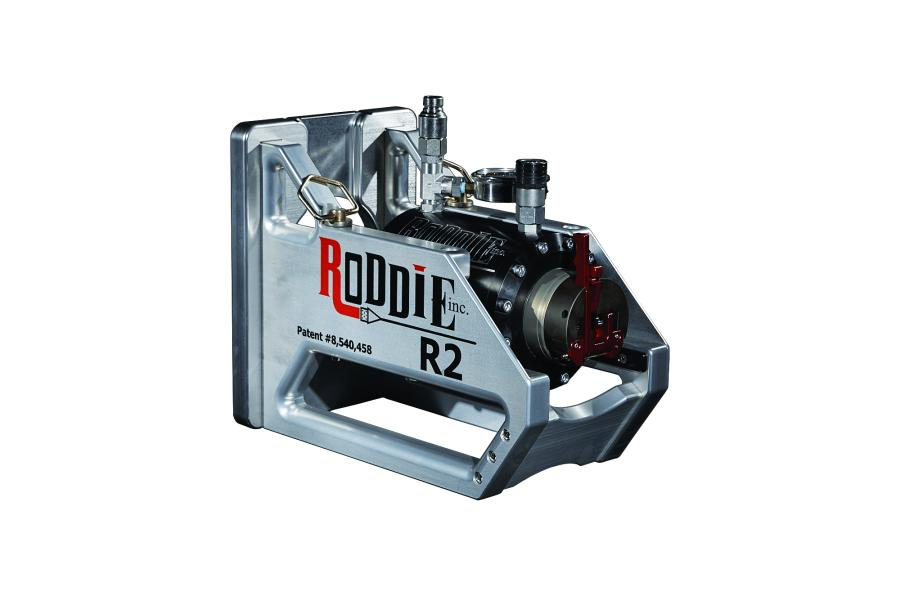 R2 pipe bursting machine