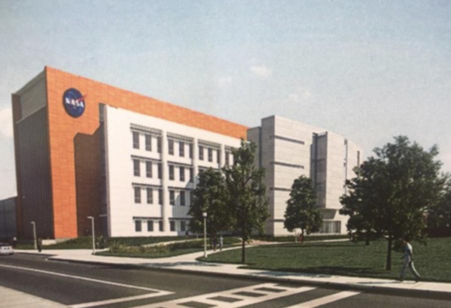 Artist rendering of the NASA facility.