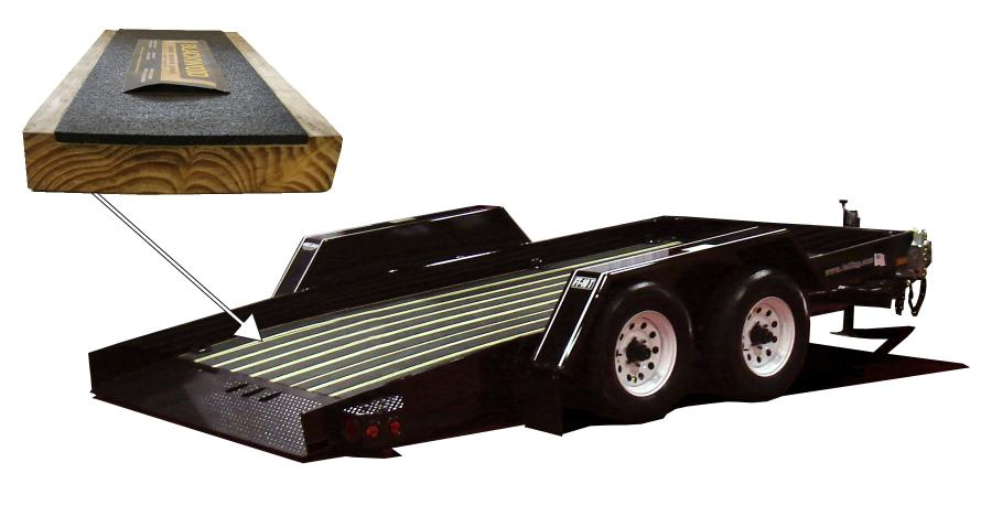 FT-10 T Pan Tilt trailer with Blackwood decking.