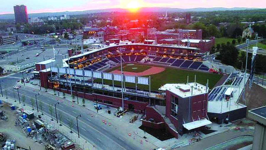 The Yard Goats are expected to play 70 home games at Dunkin' Donuts Park in 2017.