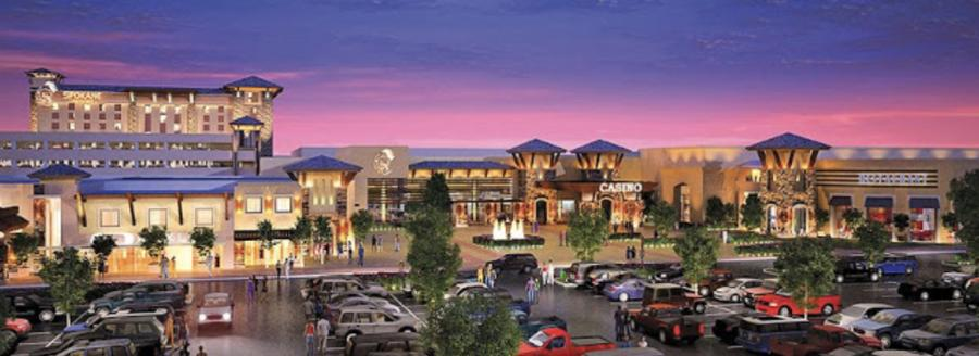 Rendering of the casino being constructed by the Spokane Tribe of Indians in Airway Heights, WA.