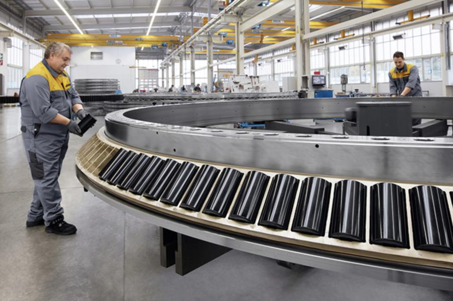Liebherr tapered roller bearings fulfil the highest requirements in terms of precision and load capacity.