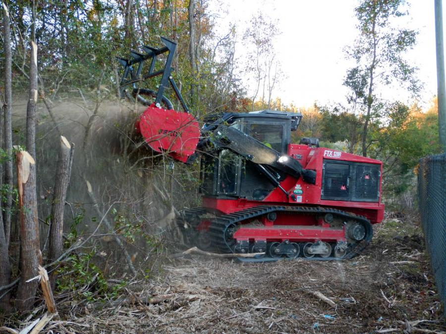 The FTX128R offers 23 in. of ground clearance, powerful steering, excellent traction, and a PSI of 4.5 for responsive handling in soft wet conditions.