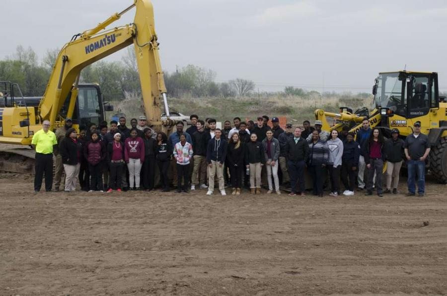 The students received training and supervision from highly trained expert instructors, and learned more about the variety of job prospects in the construction industry.