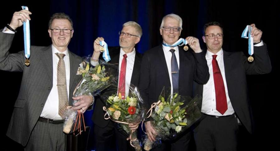 Thomas Lewin, Bo Jönsson, Roger Berglund and Krister Wickman.