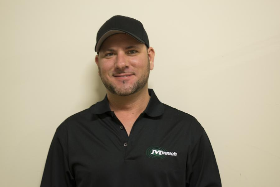 Mike Rabideau, Western region sales manager.