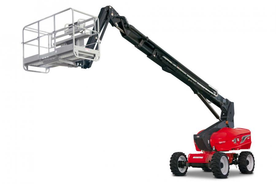 The 220 TJ telescopic jib from Manitou Group.