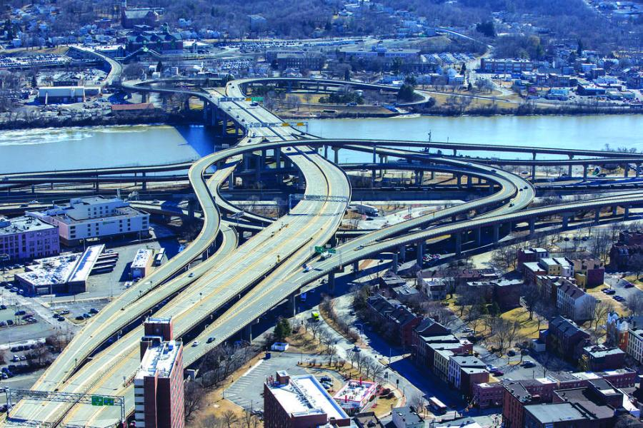Gov. Andrew M. Cuomo announced that work on a $22.4 million project to rehabilitate the South Mall Expressway in Albany is now under way.