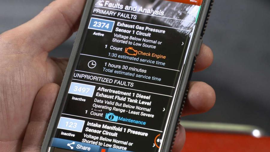 Cummins customers are now able to read prioritized engine fault codes and other key engine information within minutes wherever they are operating with the new Cummins Guidanz mobile app.