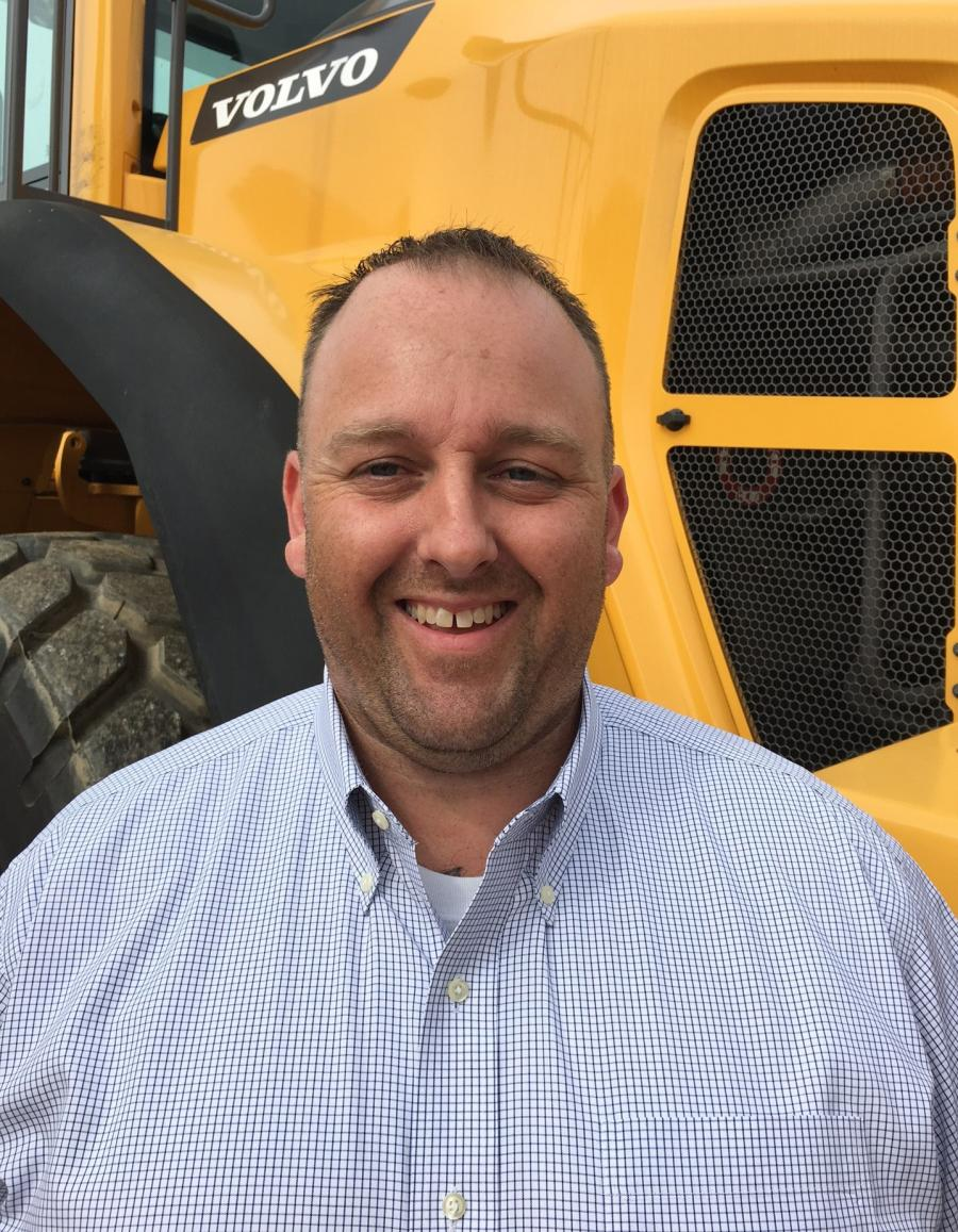 Austin Frederick, Vice President of Product Support at McClung-Logan Equipment Company.