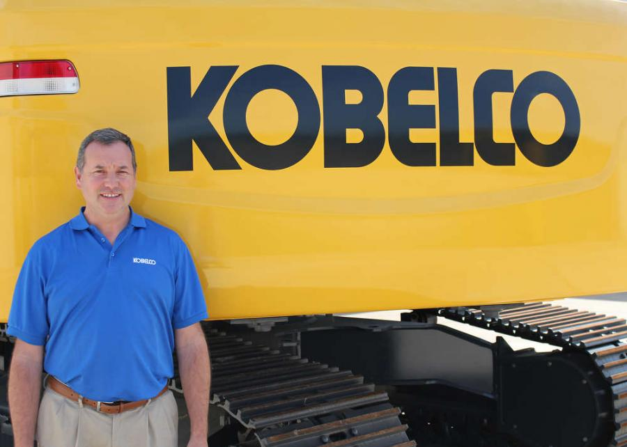 David Donneral, Specialized Machinery Sales Manager at KOBELCO USA.
