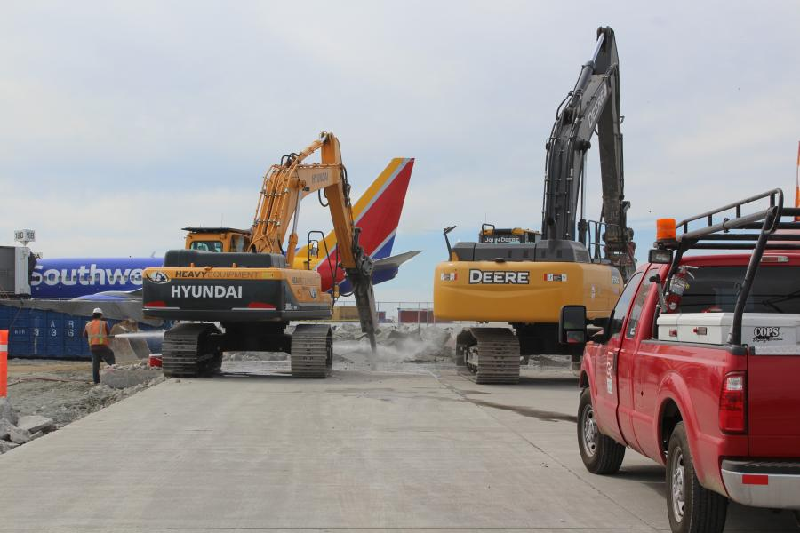 AvAirPros photo A $509 million construction project is under way to improve and modernize Southwest Airlines' Terminal 1 at Los Angeles International Airport (LAX).