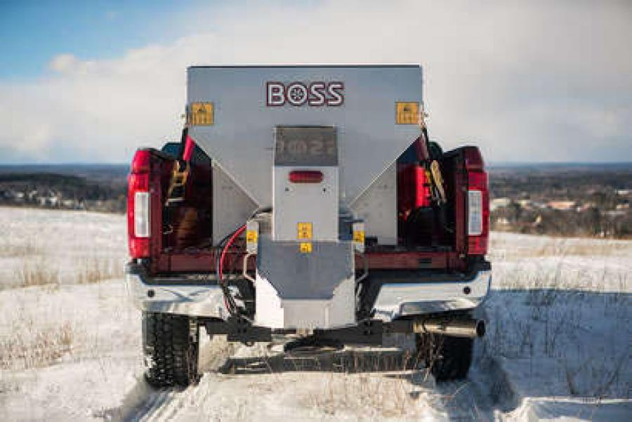 The BOSS FORGE is a powerful new tool for snow and ice contractors to use when winter weather strikes.
