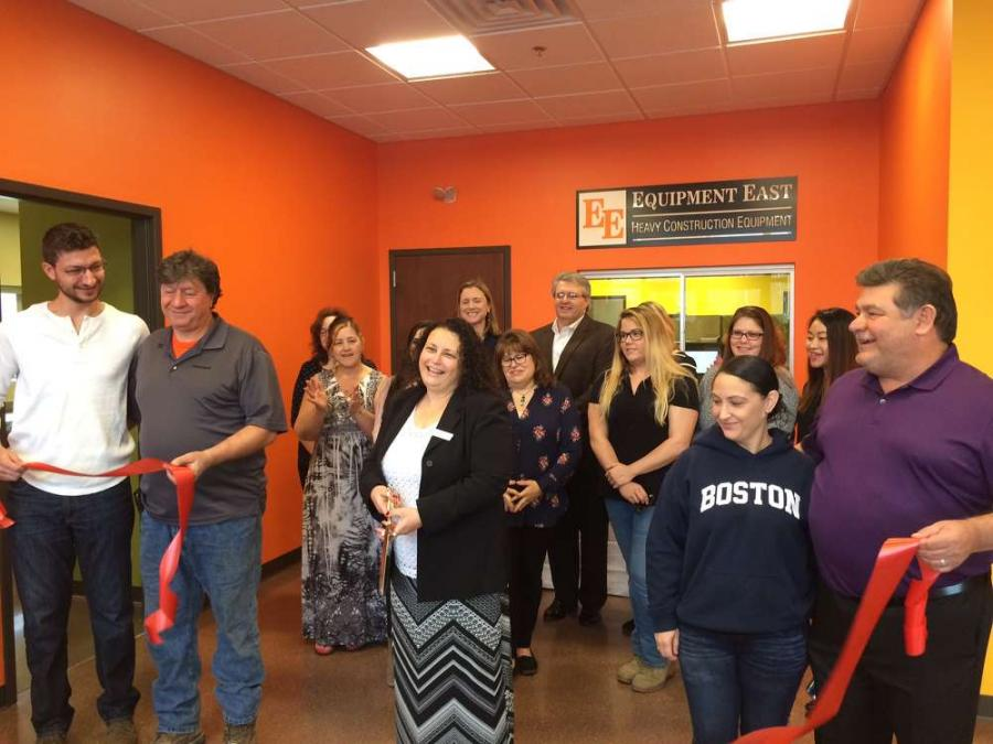 Equipment East LLC, a heavy equipment construction retailer, held a ribbon-cutting ceremony marking the opening of its new facility in Dracut, Mass.