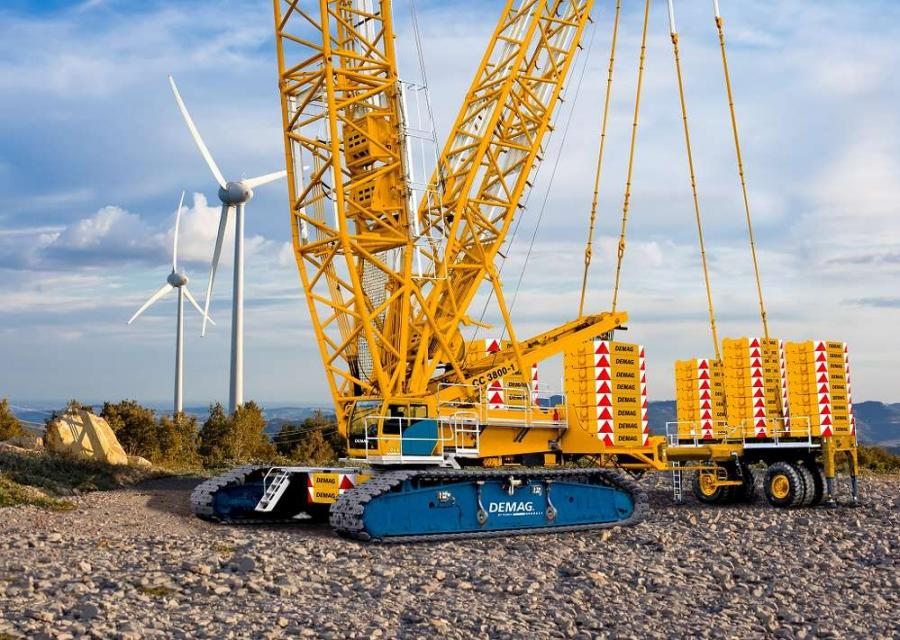 Crane Norway Group AS has invested NOK 200 million in the last 12 months on new cranes.