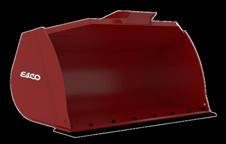 All Esco general purpose loader buckets come standard with a spill guard, bolt-on skid shoes, replaceable bolt-on edge, and are available with direct-pin or quick coupler connections.