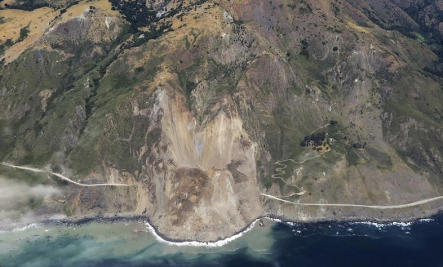 The weekend slide in Big Sur buried a portion of Highway 1 under a 40-foot layer of rock and dirt.