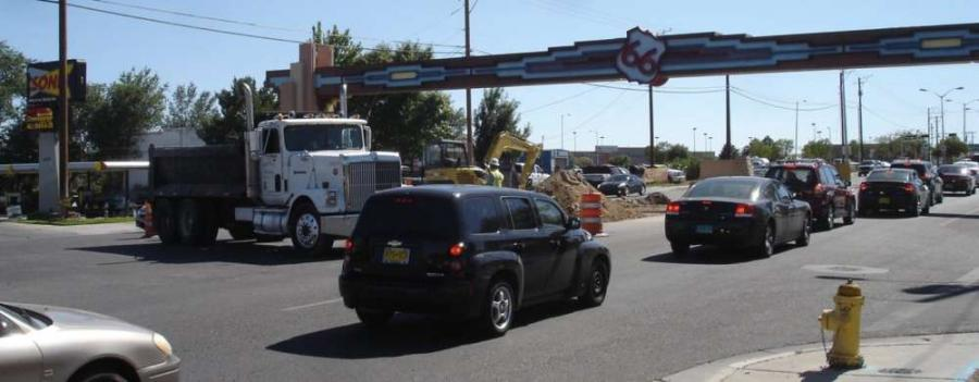 Art Project Speeds Ahead On Old Route 66 Construction