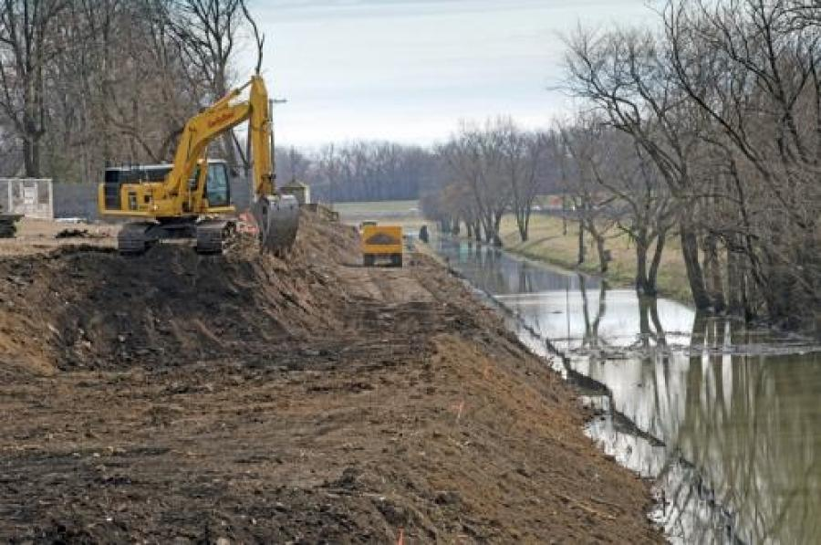 The Bee Slough major sewer infrastructure project. mswmag.com photo