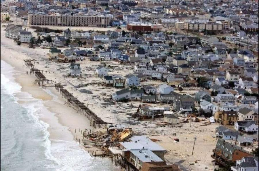 Few places in New Jersey suffered worse in Sandy than the Ortley Beach section of Toms River. (tomsriver.tv photo)