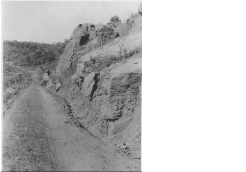 A view of Avery Road from 1914 or 1915, which was then called River Road.