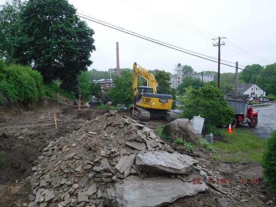 Work is under way to rehabilitate the oldest masonry bridge in Rhode Island.