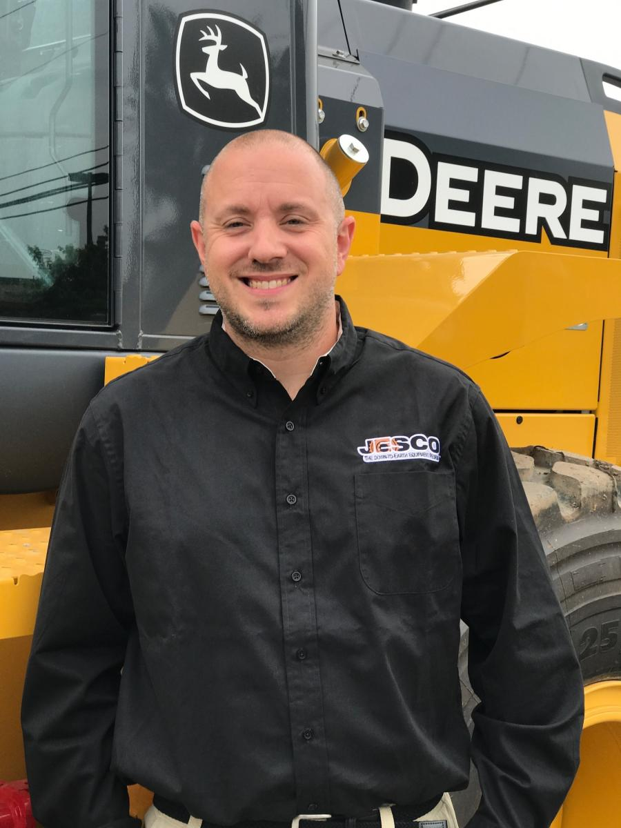 JESCO Inc. has named Michael Haynie its new territory manager covering the company's southern Maryland areas.