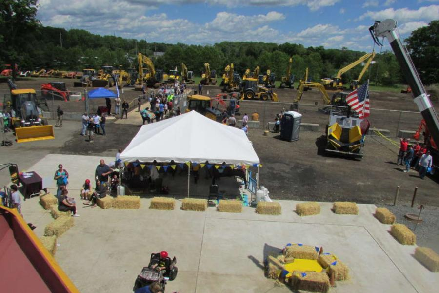Harter Equipment's 50th Anniversary Open House on June 3 was very well attended. Guests were kept busy with many activities.