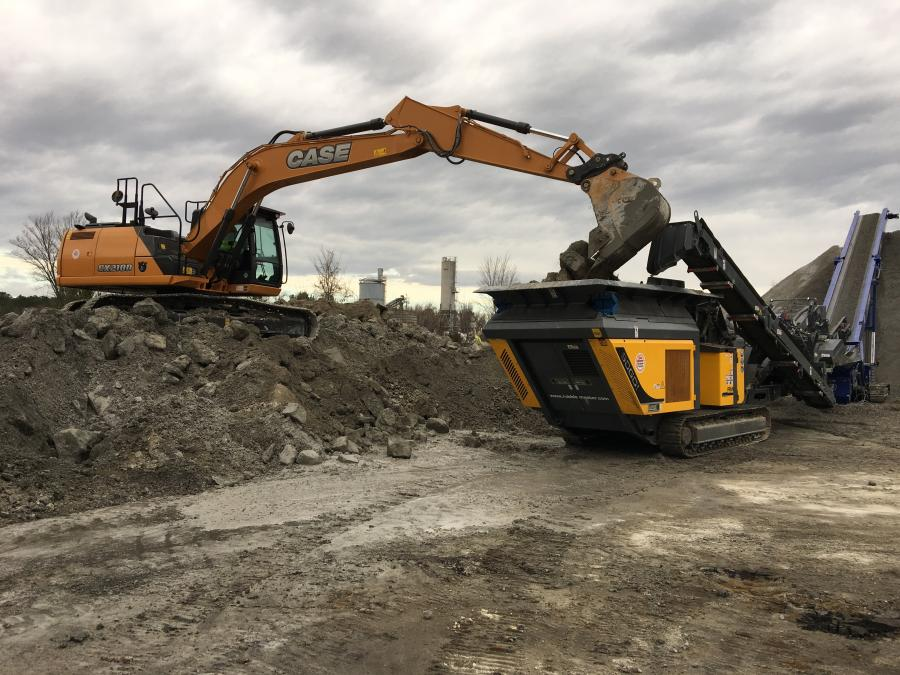 Superior Concrete uses its Rubble Master crusher to create a spec material that can be used for anything from driveways, to farm paths or parking lots.