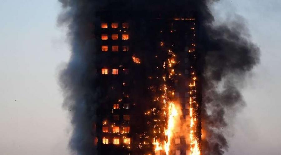 The blaze at a London apartment tower has brought new scrutiny to high rise fire rule. 