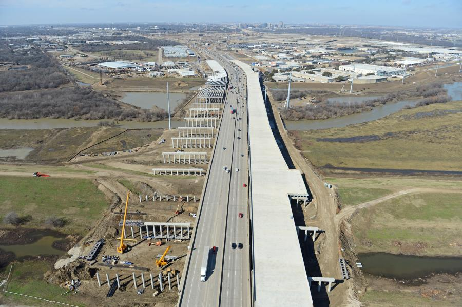 The $847.6 million Midtown Express project will rebuild and improve portions of much-used Texas state highways.