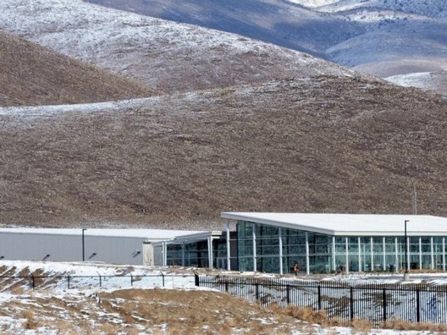 Apple's current Reno data center.  (Reno-Gazette Journal photo)