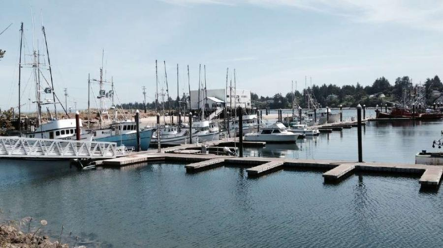 The Port of Coos Bay is promoting its proposed $400 million channel modification project.