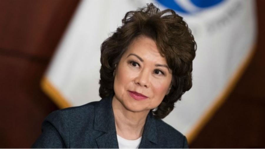 Transportation Secretary Elaine Chao has reassured lawmakers that the project is a priority for the administration.(Getty Images)