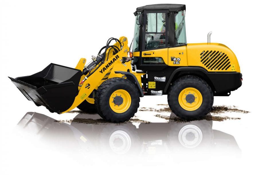 Yanmar America's construction equipment division has added three new, larger wheel loaders to its product offering — the V8 (61 hp, 1.05 to 1.57 cu. yd. [.8 to 1.2 cu m] bucket), V10 (74 hp, 1.31 to 2.03 cu. yd. [1 to 1.5 cu m] bucket) and V12 (100 hp, 1.57 to 2.35 cu. yd. [1.2 to 1.8 cu m] bucket).
