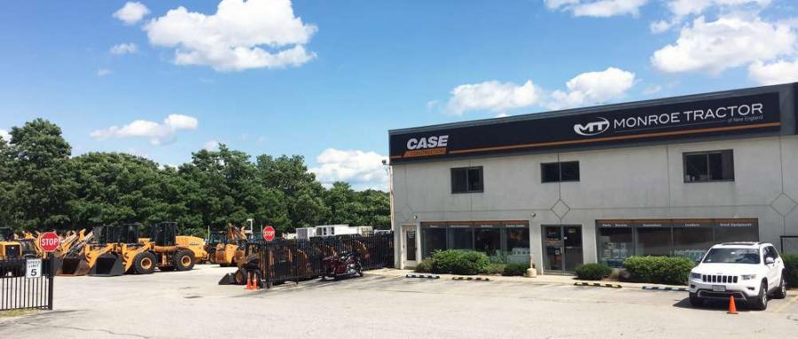 Monroe Tractor has acquired Case of New England.