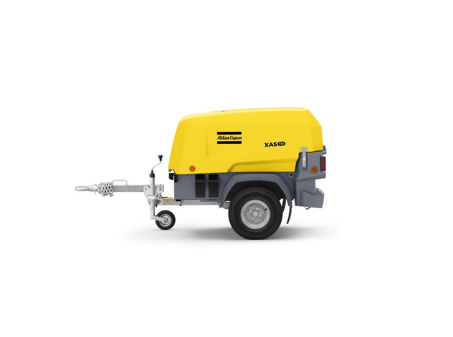 Atlas Copco has won a 2017 Red Dot Design Award for its 8-series portable air compressors, including the XAS 110 model.