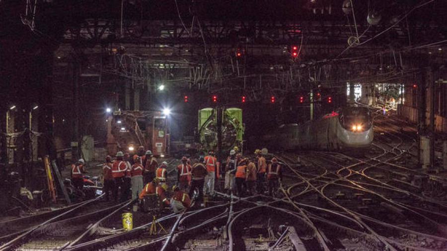 Penn Station is just one symptom of a larger transportation illness. (NBC New York photo)