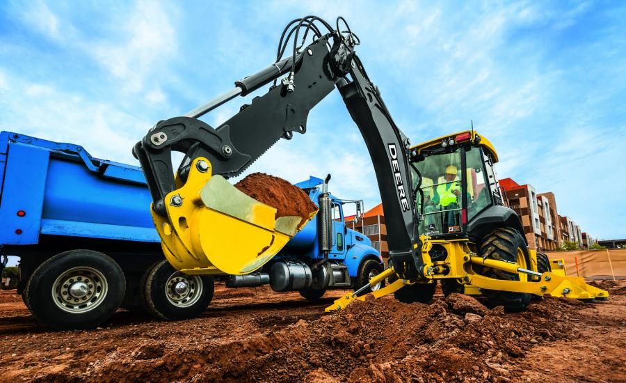 Updates to the John Deere L-Series backhoe lineup enhance the productivity and uptime for professionals looking to lift more and multitask on the job site. The key backhoe updates include the introduction of precision mode, enhanced pilot controllers, two new rear quick coupler offerings and a redesigned hydraulic thumb.