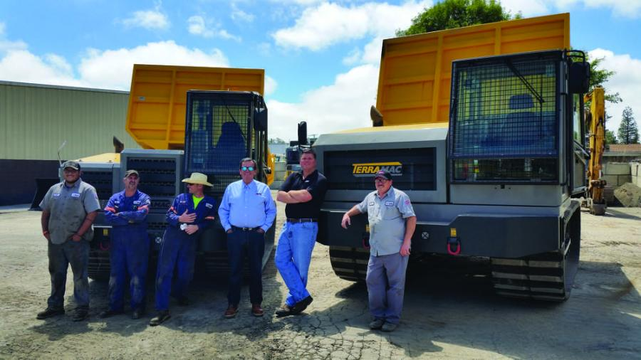 The team at Road Machinery will represent the versatile Terramac product line in Arizona and California.