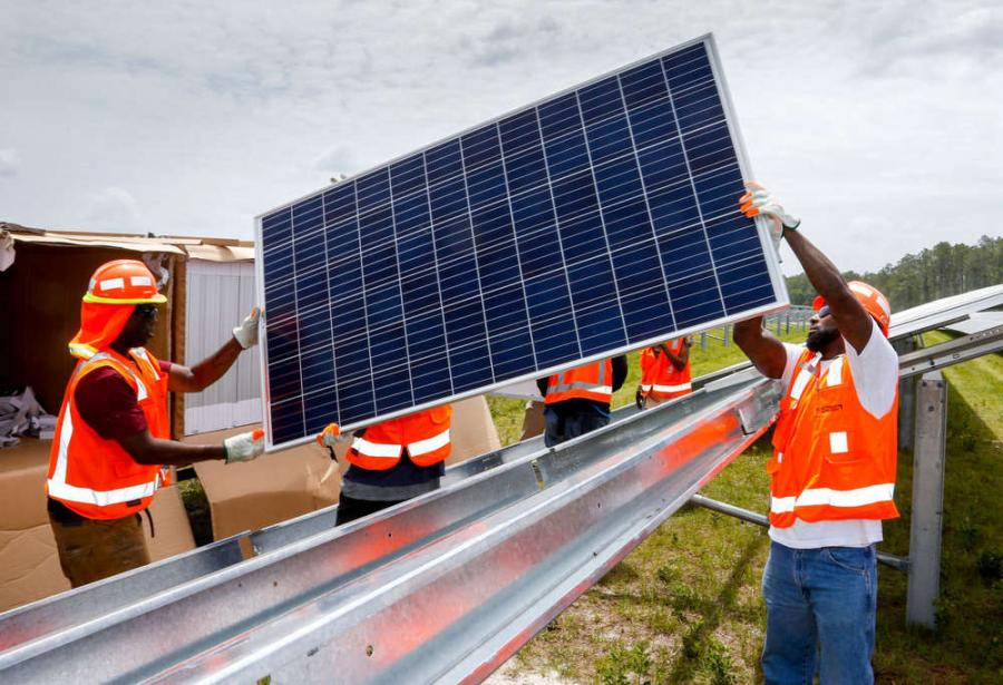 Each solar park will cost about $100 million to construct, but FPL spokesperson Stephen Heiman said FPL customers should not expect any money to come out of their pockets for it. (Photo Credit: The Independent Florida Alligator)