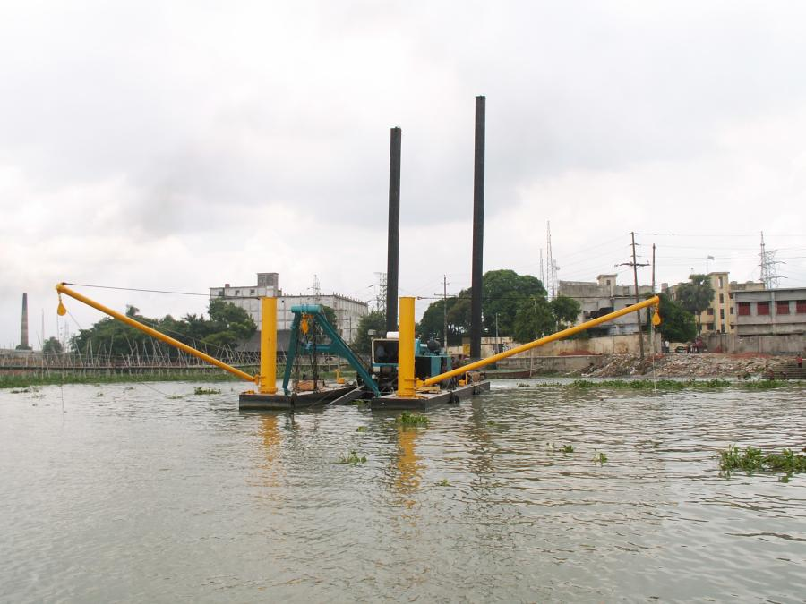 DSC 18-inch Shark Class Dredge in Bangladesh.