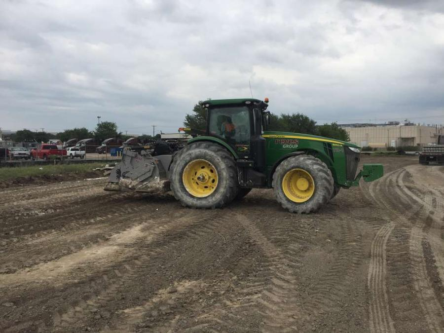 Ag-Power was able to provide a John Deere 8360R tractor and become a one-stop-shop for the Reyes Group's service and parts needs.