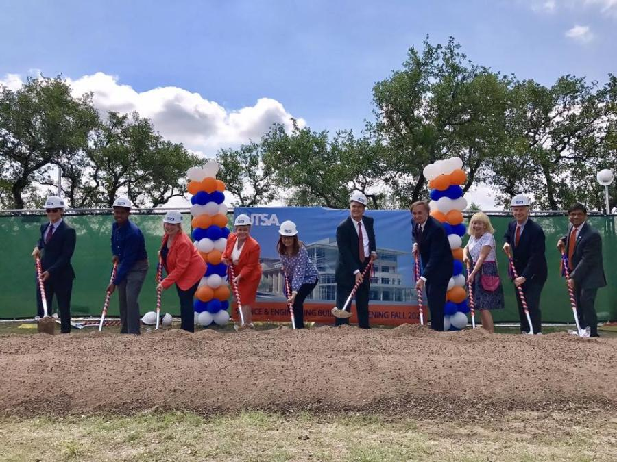 Officials from the University of Texas at San Antonio broke ground on June 9, on its $95 million science and engineering building.