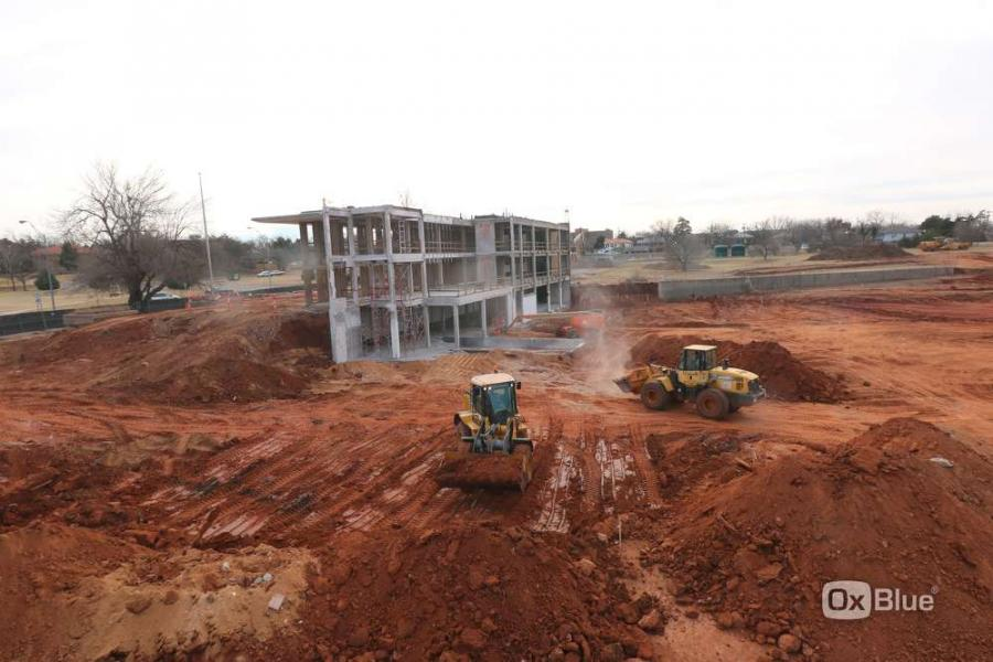 Work is under way on a $15 million project to provide a new 38,403-sq.-ft. headquarters for the Oklahoma Department of Wildlife Conservation in Oklahoma City. (Oklahoma Department of Wildlife Conservation photo)