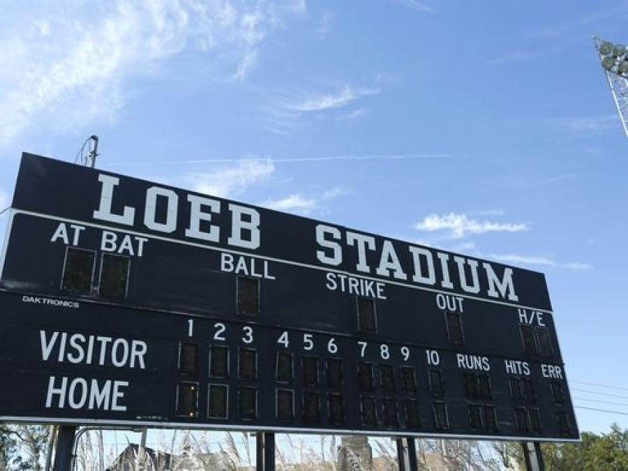 The current Loeb Stadium will be replaced with a new stadium that will have seating for about 2,000 people. 