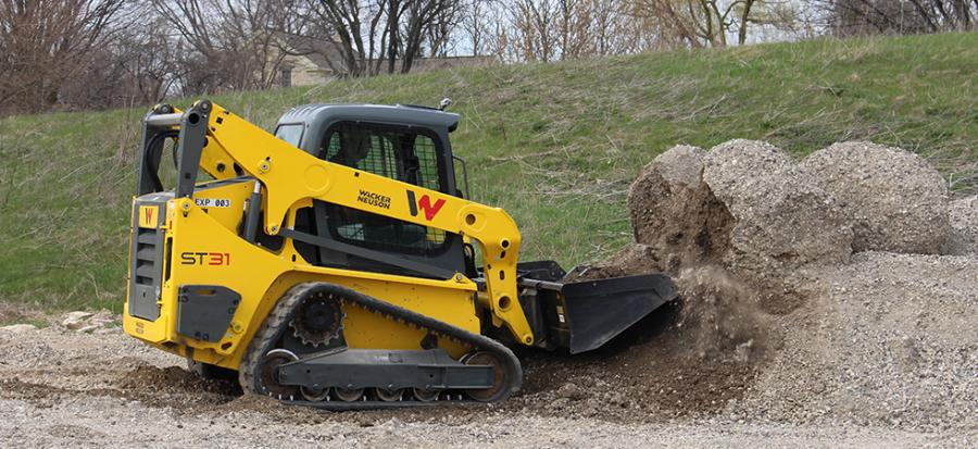 Wacker Nueson is one of the many brands Franklin Equipment carries.