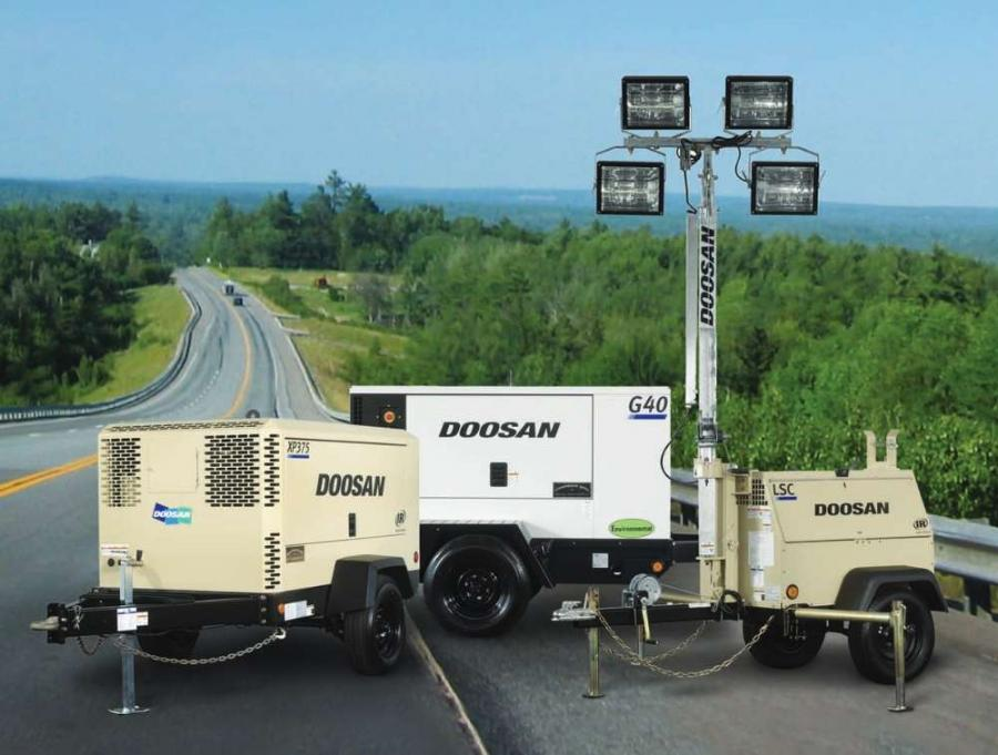 O'Leary's Contractors Equipment will supply Doosan Portable Power air compressors, generators and light towers to the Chicago metropolitan area