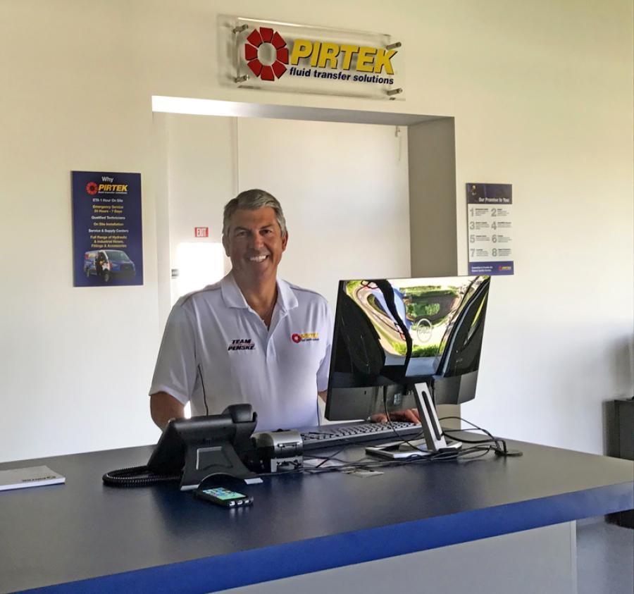 Kelly Curran, the owner of PIRTEK OC in Orange, California.